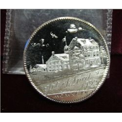 "1220. 1994 Gallery Mint Museum Silver Medal ""Ron Landis/"