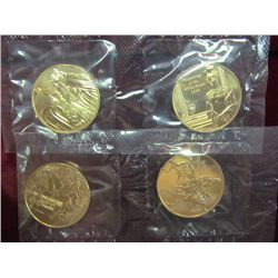 1231. 2008 First Spouse Bronze Medal Series Four-Medal Set.