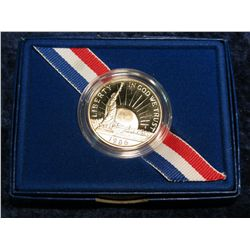 1258. 1986 S Statue of Liberty Proof Commemorative Half Dollar.