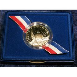 1259. 1986 S Statue of Liberty Proof Commemorative Half Dollar.