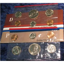 1283. 1984 U.S. Mint Set. Original as issued.