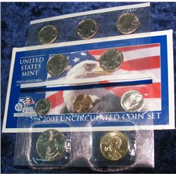 1285. 2003 Philadelphia U.S. Mint Set. Original as issued.