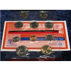 1286. 2002 Denver U.S. Mint Set. Original as issued.