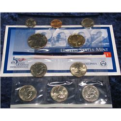 1287. 2002 Philadelphia U.S. Mint Set. Original as issued.