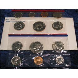1290. 1981 U.S. Mint Set. Original as issued.