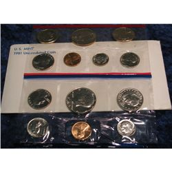 1291. 1981 U.S. Mint Set. Original as issued.