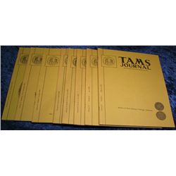 1312. 1972  Tams Journal  Magazines. Volume 12 no. 1-6.