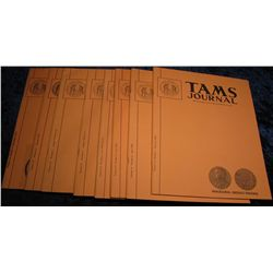 1314. 1974  Tams Journal  Magazines. Volume 14 no. 1-6.