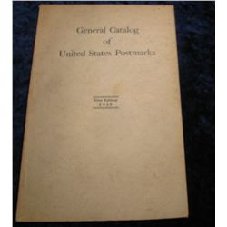 "1360. 1935 First Edition ""General Catalog of United States"