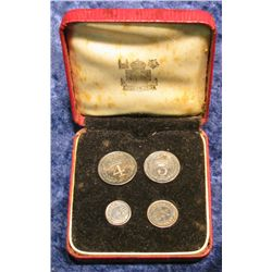 1426. 1956 Great Britain Maundy Proof Set in original box..