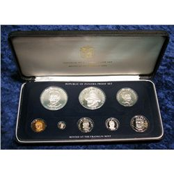 1428. 1979 Silver Panama Proof Set. Original as issued.