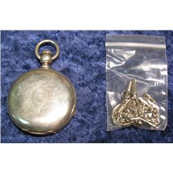 1432. Coin Silver Hunting Case Rockford Watch Co. Pocket Watch