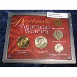 1458. Portraits of American Woman Coin Collection
