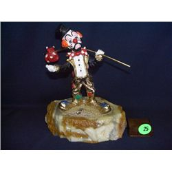 Ron Lee clown , Clown Sculpture by artist - Ron Lee - Signed 7