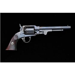"Rogers & Spencer percussion revolver, .44  cal., 7-1/2"" octagon barrel, blue finish,  wood grips, #2"