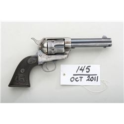 "Colt Single Action Army revolver .41 caliber,  4-3/4"" barrel, blue and case hardened  finish, hardru"
