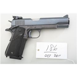 Custom .45 auto on Essex steel frame,  utilizing Colt pre-war slide, Colt series-70  barrel, target