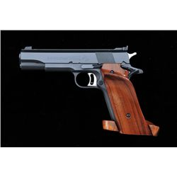 Colt National Match .38 Special Mid Range,  semi-automatic target-grade pistol, serial  #7149-MR. Bl