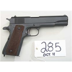 Model 1911A1 Government model, .45 ACP  caliber semiautomatic pistol by Union Switch  & Signal of Sw