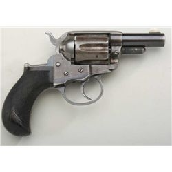 "Colt model 1877 Thunderer, .41 caliber,  storekeeper's model with factory 2-1/2""  barrel, blue and c"