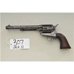"Colt Single Action Army revolver, .45  caliber, 7-1/2"" barrel, early civilian series  with two-line"