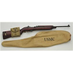 "U.S. M1 semi-auto carbine by Saginaw S.G.,  .30 cal., 18"" barrel marked Saginaw SG Div.,  military f"