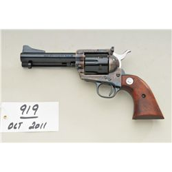 Colt single action New Frontier, .45 Colt  caliber revolver, 4-3/4 barrel, blue and  case hardened,