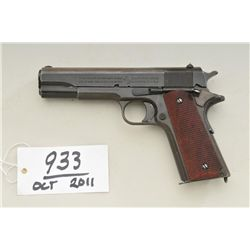 Colt 1911 Government model, .45 ACP caliber,  US Property marked, recondition and upgraded  for WWII