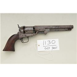 Early Colt U.S. martial Navy-Navy Model 1851  percussion revolver originally in the Swayze  collecti