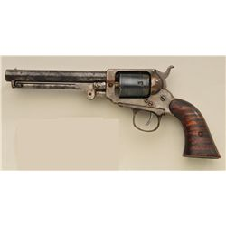 Period copy of Whitney police-size revolver,  .32 rimfire caliber, 5-shot cylinder, no  visible seri