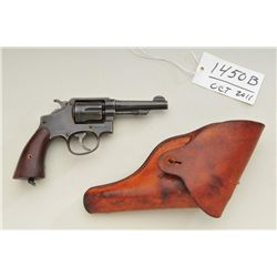Smith & Wesson victory model .38 caliber  double-action military style revolver,  parkerized finish,