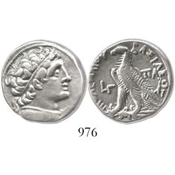 PTOLEMAIC KINGS of EGYPT. Cleopatra VII,  Ptolemy XIV, XV and XVI. 51-30 BC. AR tetradrachm. Series