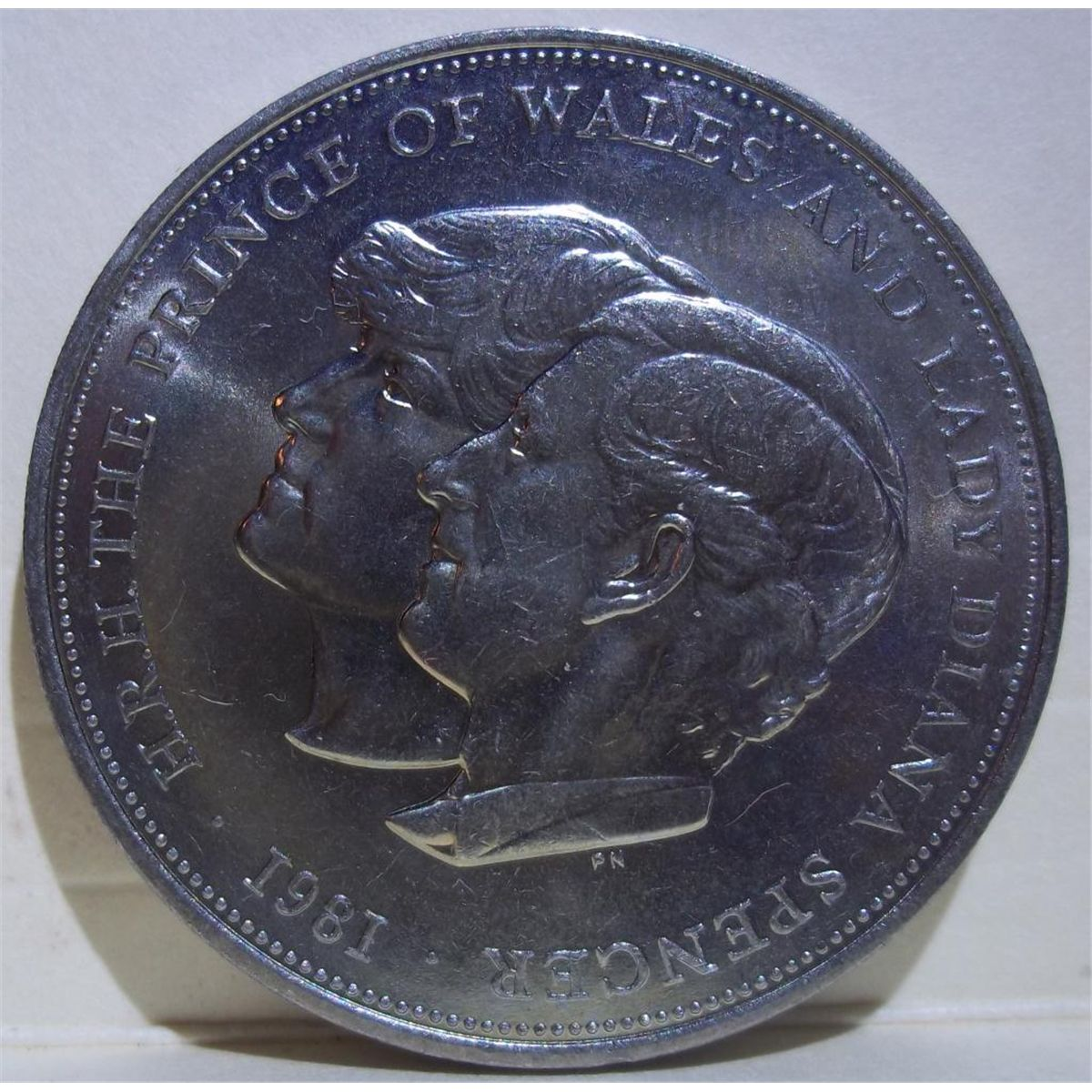 lady diana prince charles coin 1981