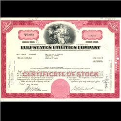 1960s Gulf States Utils Stock Certificate Scarce (COI-3328)