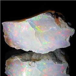 26.95ct Etheopian Crystal Opal Rough  (GEM-32724)