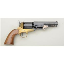 Hawes Firearms Co. modern copy of a  percussion Navy single action revolver,  Italian-made, .36 cal.