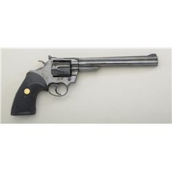 "Colt Trooper MK III DA revolver, .357 Magnum  cal., 8"" barrel, black finish, Pachmayr  checkered Col"
