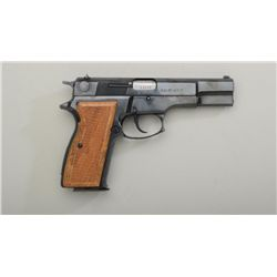 "Hungarian FEG Model P9R DA semi-auto pistol,  import-marked, 9mm cal., 4-3/4"" barrel, black  finish,"