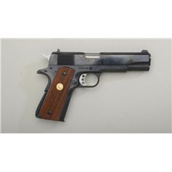 "Colt Series 70 semi-auto pistol with Kings  barrel and slide, .45 cal., 5"" barrel, black  finish, ch"