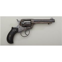 "Colt Model 1877 DA ""Lightning"" revolver, .38  cal., 4-1/2"" barrel, blue and case hardened  finish, c"