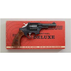 High Standard Sentinel Deluxe DA revolver in  factory red cardboard box numbered to this  gun with i