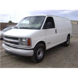 2001 -  CHEVROLET EXPRESS VAN
