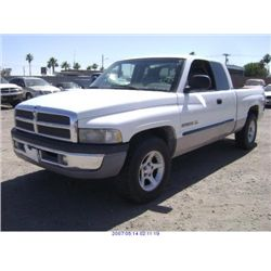 2000 -  DODGE RAM 2500 EXPORT ONLY