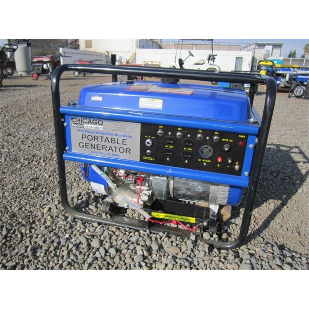 Chicago Electric 5500 Watt Generator