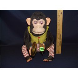Vintage Jolly Chimp clapping monkey Cymbals battery operated