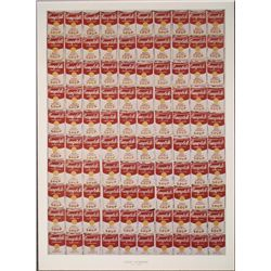 Andy Warhol Art Print 100 Cans Campbell Soup