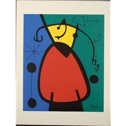 Joan Miro Modern Abstract Art Print
