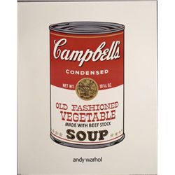 Campbell Soup Cans Andy Warhol Art Print