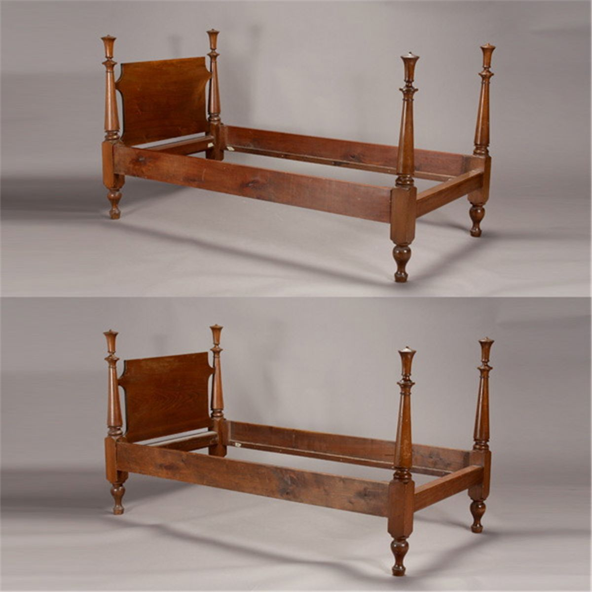 walnut king bed  eBay