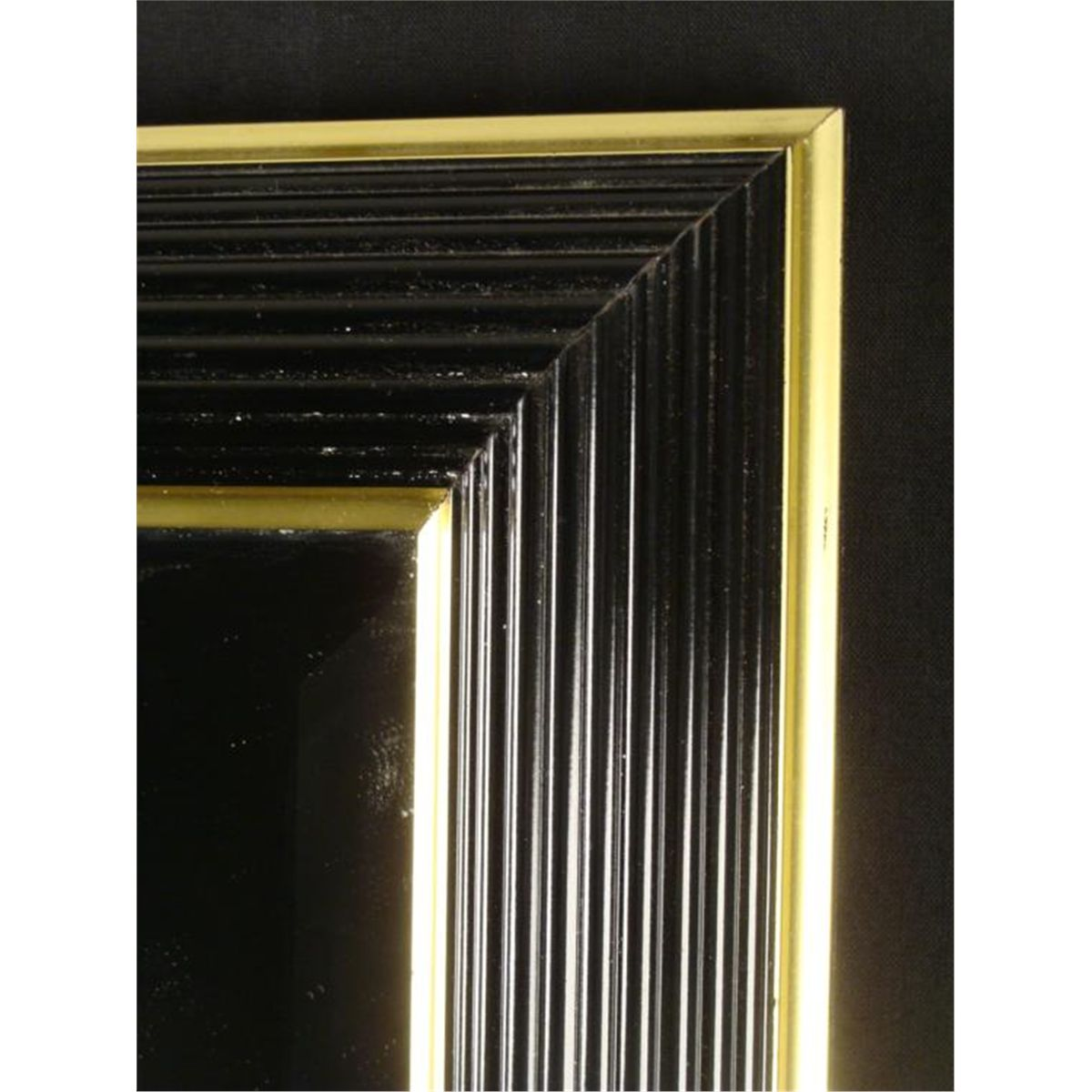 Bombay company 24x30 black gold art deco wall mirror amipublicfo Image collections